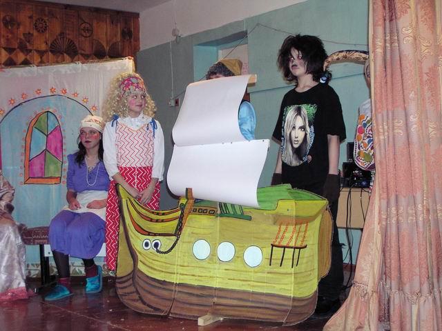 Корабль для спектакля своими руками